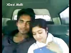 Desi Coleg Gf Enjoyed By Her Bf In Car by -XDesi.MoBi