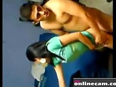 Indian lovers quick fuck at hostel