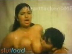 Big Boobs Show in Indian Cinema