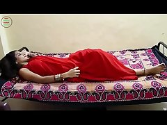Desi Milf'_s boobs fondled really hard by salesman ## Hindi Hot Short Film